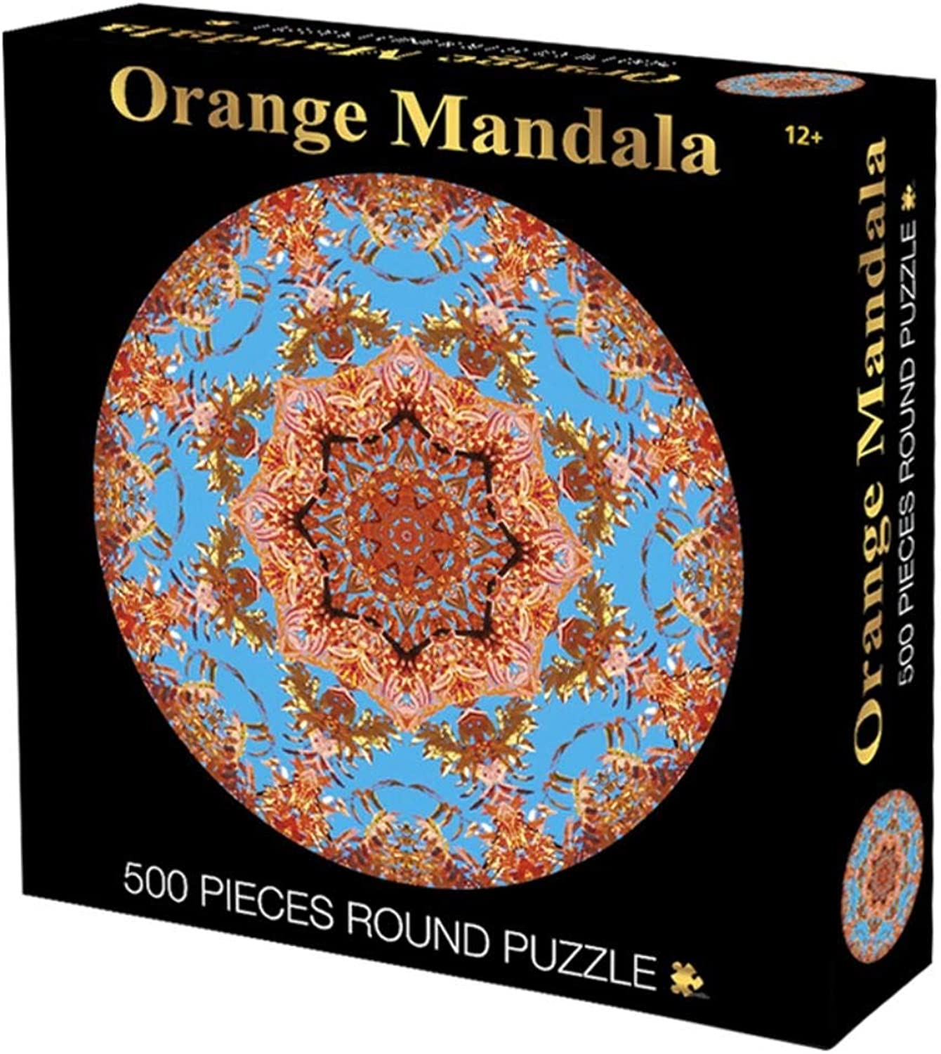 Jigsaw Puzzle Round Jigsaw Puzzle, Oriental Totem Legend, Perfect Cut & Fit, Classic Decorative 500 1000 Pieces Boxed Toys Game for Adults & Kids 503 (color   F, Size   500pc)