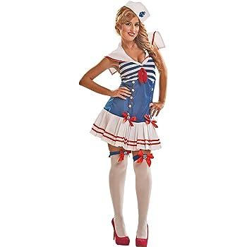 Disfraz marinero Talla grande 16-18: Amazon.es: Juguetes y juegos