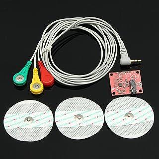 Bluelover Único Plomo Ad8232 Pulso Pulsómetro Monitor ECG Kit Módulo para Arduino