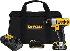 Best dewalt 12v max 1/4 screwdriver kit Reviews