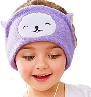 FIRIK Kids Headphones Volume Limited with Easy Adjustable Kids Costume Headband Silky Headphones for Children, Perfect for Travel and Home Multi-Colored SB-6565