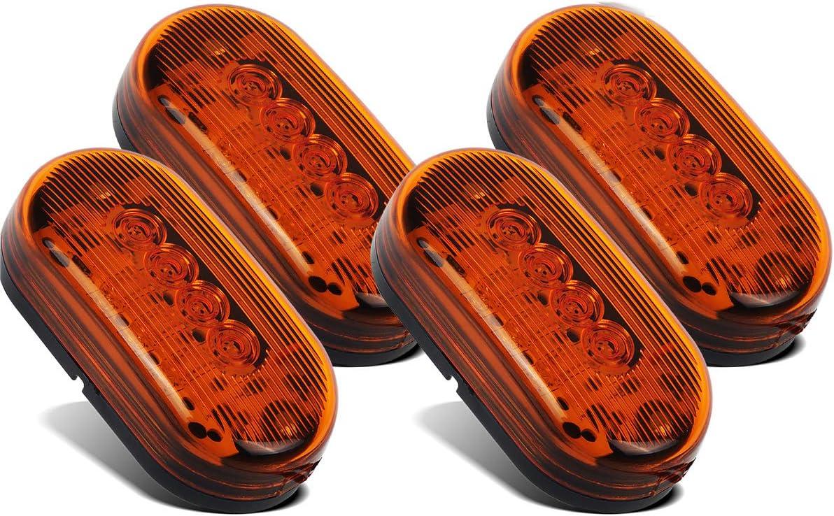 Partsam Trailer Clearance or Side Marker Branded goods 5 ☆ popular - 10 Light Diodes LED