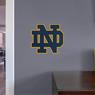 NCAA Notre Dame Fighting Irish - ND Logo Teammate- Officially Licensed Removable Wall Decal