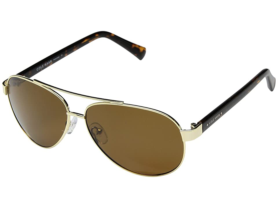Cole Haan CH6043 (Gold) Fashion Sunglasses