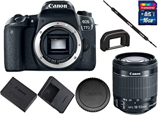Best canon 77d 18 135mm price in india Reviews
