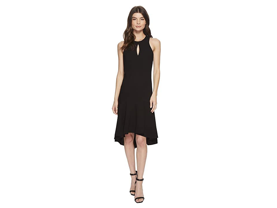 Trina Turk Petal Dress (Black) Women