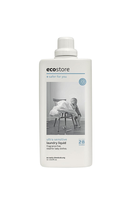 ecostore(エコストア) ランドリーリキッド 【無香料】 1L 洗濯用 液体 洗剤