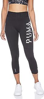 PUMA Damen Logo 3/4 Tight Leggings