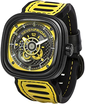 Sevenfriday P3B Racing Team Yellow Dial Men's Automatic Watch