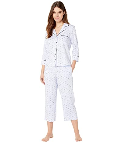 Kate Spade New York Sateen Capris Pajama Set (Mini Heart) Women