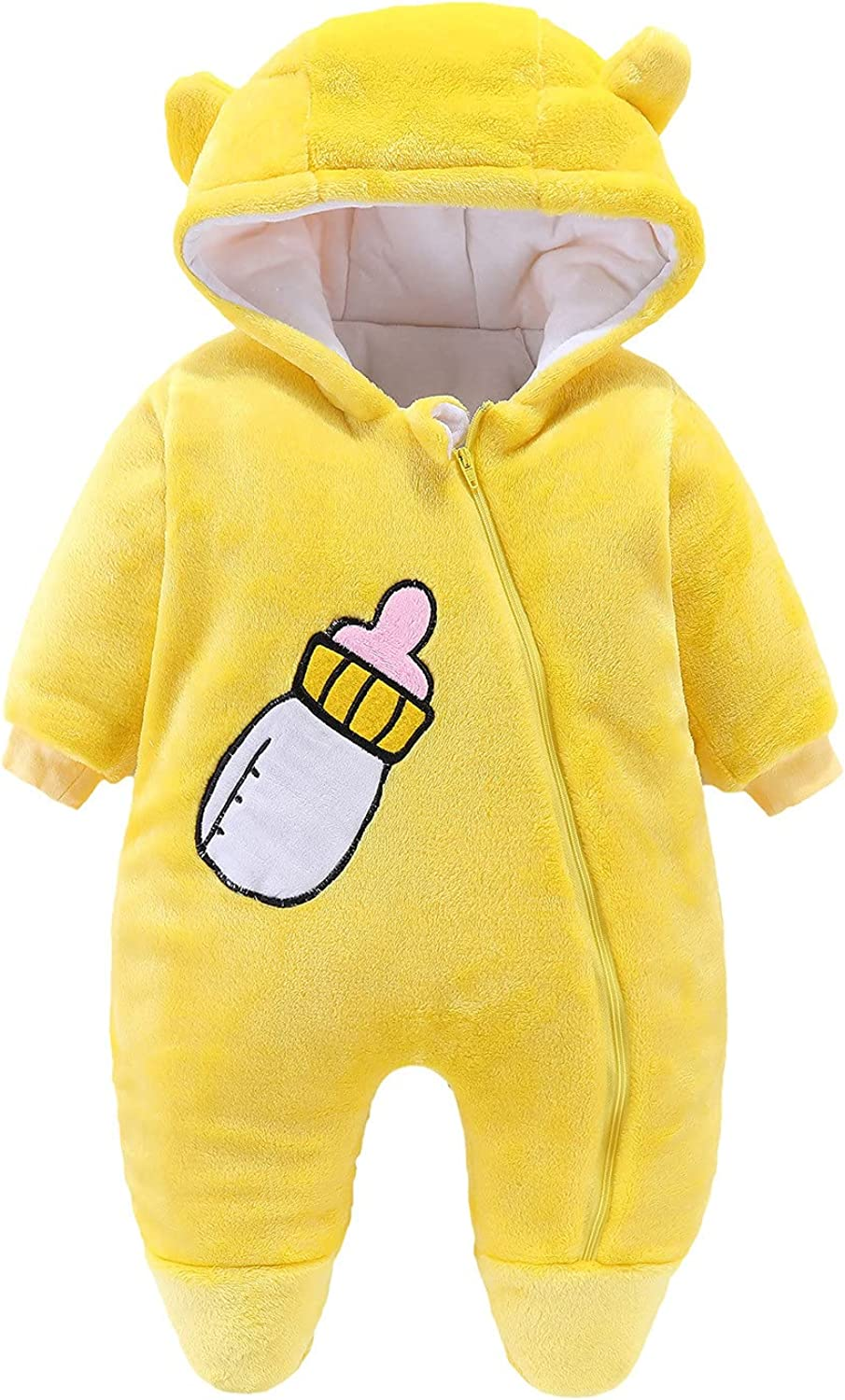 Latest item Digood Girls Hoodie Coat OFFicial store Baby Dow Jumpsuit Hooded Snowsuit
