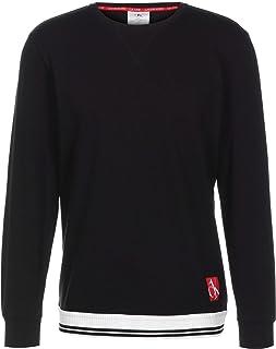 CALVIN KLEIN Logo Sweatshirt Sweater Large Black