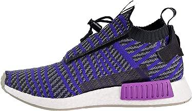 adidas Originals NMD_TS1 Primeknit Shoe - Men's Casual 10 Carbon/Energy Ink/Grey