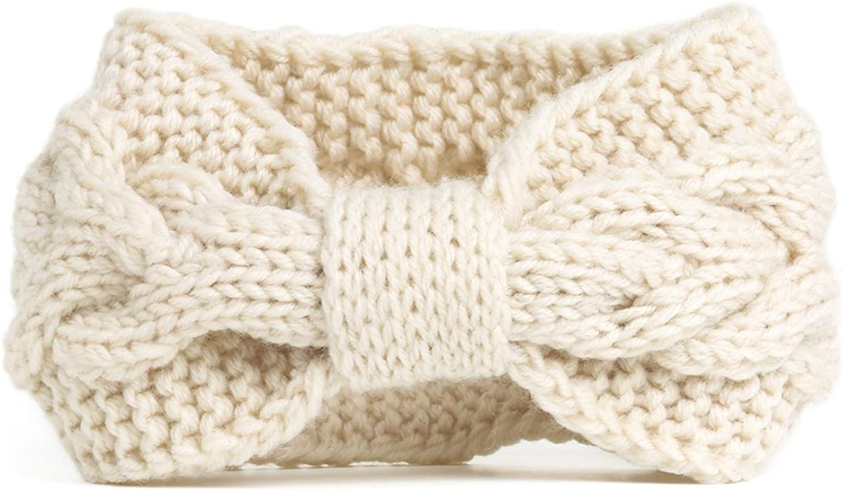 Earwarmer Headband \u2022 Women/'s Crocheted Earwarmer \u2022 Chunky Headwrap