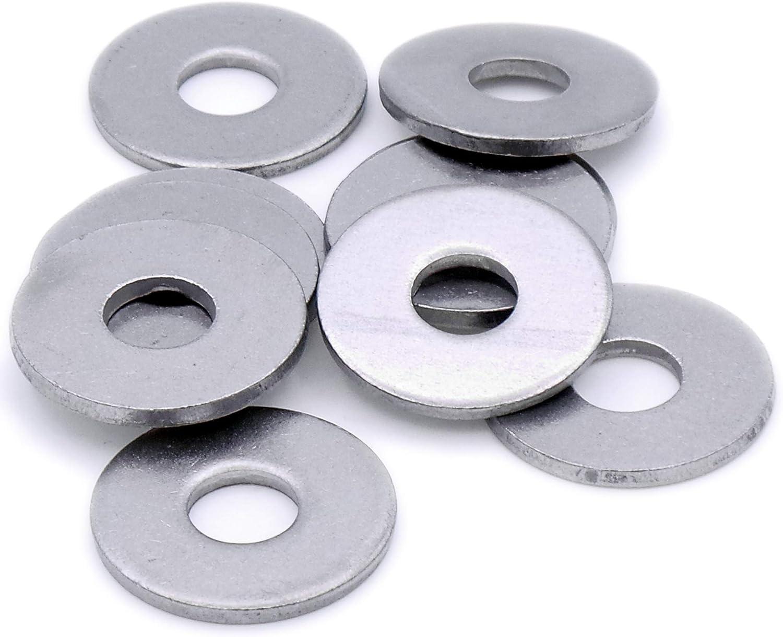 8 mm Form C Stahl Unterlegscheibe M8 40 St/ück