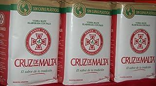 Cruz De Malta Yerba Mate 3 Pack 3kg-(6.6lbs)
