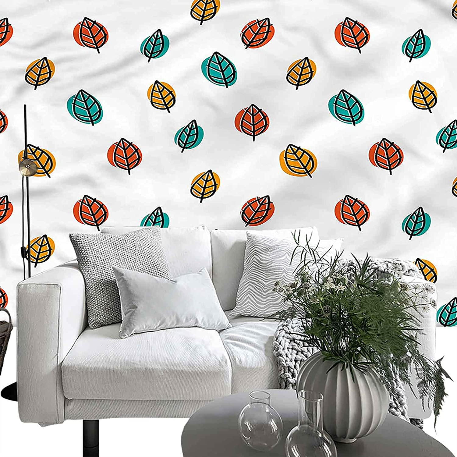 Wall Sticker for Import Bedroom Living Room San Jose Mall Nature Autumn Leave Falling