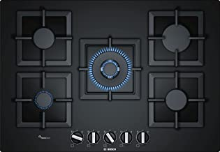 Bosch Ppq7A6B20 Gas Hob With Integrated Controls, 75cm