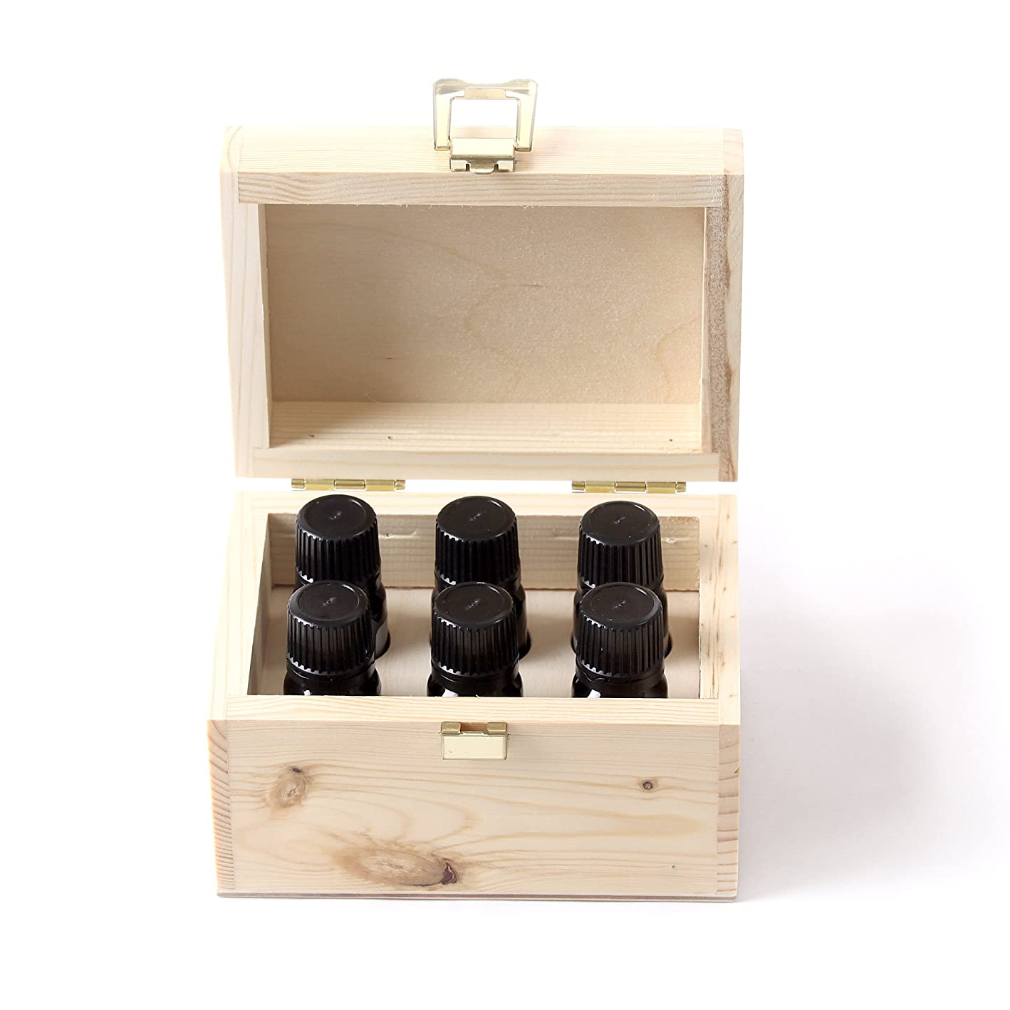 論理パーティションゾーンMystic Moments | Essential Oil Starter Pack In Wooden Gift Box - 6 x 10ml - 100% Pure