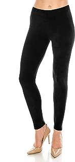 Best womens black velour leggings Reviews