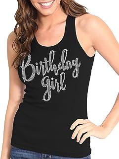 092b658817b1f Amazon.com  Birthday - Tanks   Camis   Tops   Tees  Clothing