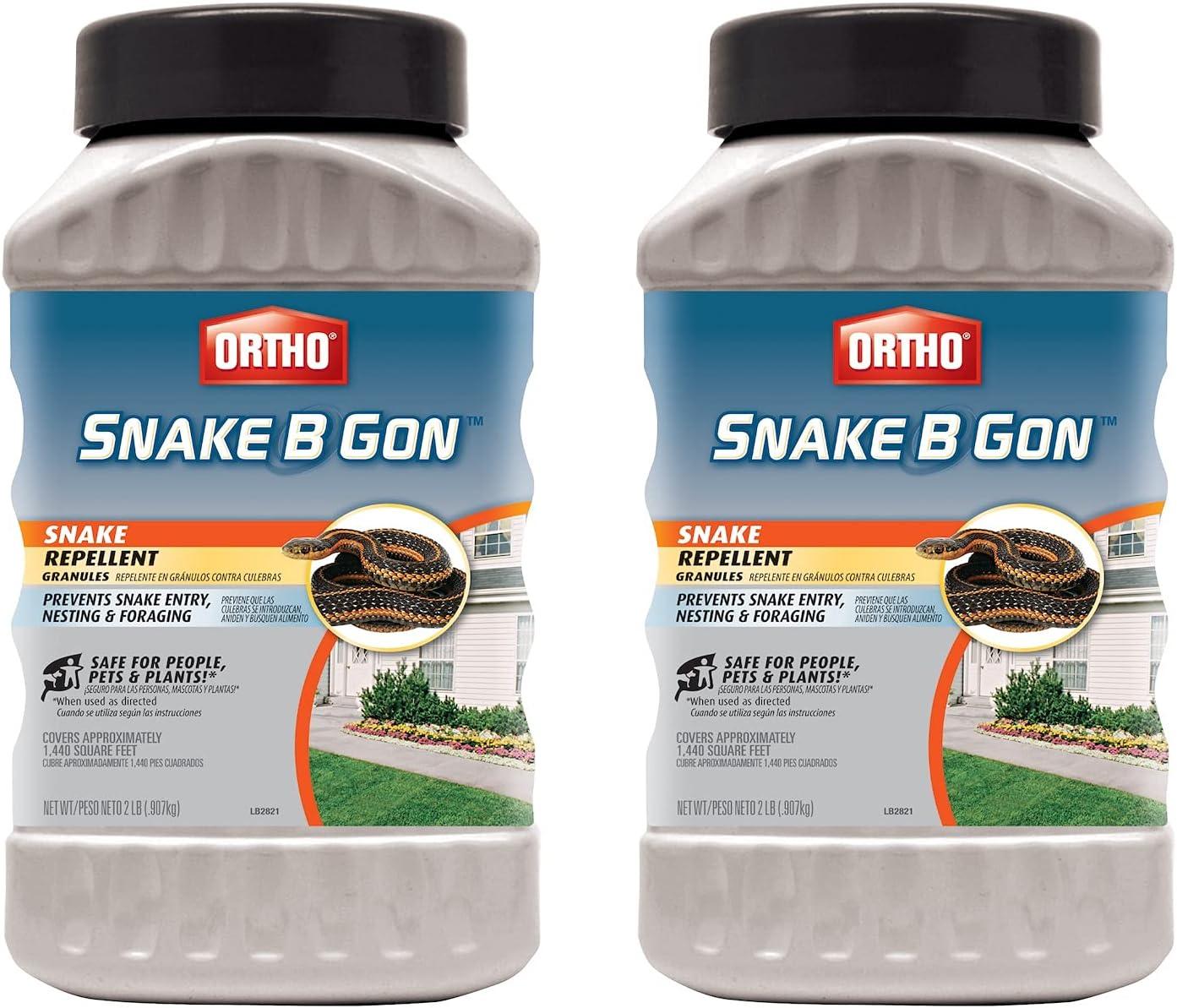 Ortho Snake-B-Gon Snake 2-Pack オンラインショッピング Granules 贈答品 Repellent