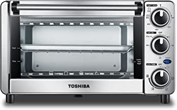 Toshiba MG12GQN-SS Toaster Oven, Stainless Steel