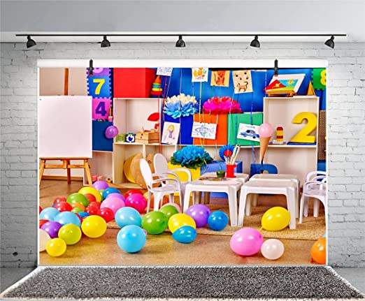 10x10ft,sxy1063 Levoo Cartoon Background Banner Photography Studio Children Baby Birthday Family Party Holiday Celebration Romantic Wedding Photography Backdrop Home Decoration Customizable Words