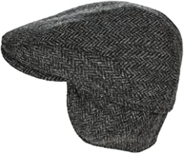Biddy Murphy Men's Ear Flap Cap 100% Wool Tweed Made in Ireland