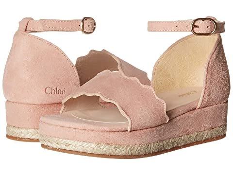 Chloe Kids Suede Platform Sandals (Toddler/Little Kid)