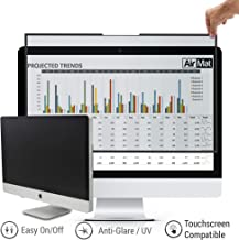 27 inch Removable - Easy On/Off - Computer Privacy Screen Filter for Widescreen Computer Monitor - 16:9 Aspect Ratio - Premium Anti-Glare Protector - Privacy for Data Confidentiality by AirMat