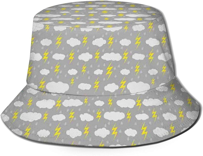 Padoni Fashion Bucket Hat for Women Men 22.5in