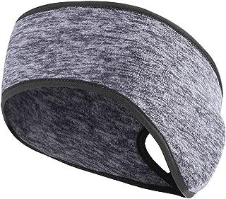 Women's Ponytail Headband Ear Warmer Head Wrap Yoga Hair Band Running Sweatband