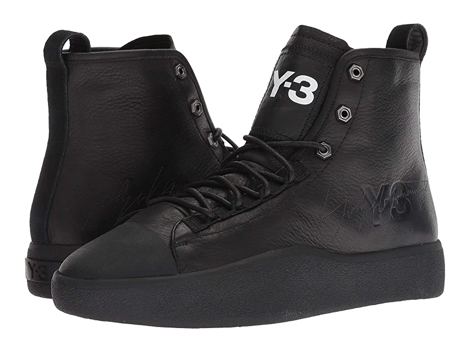 adidas Y-3 by Yohji Yamamoto Y-3 Bashyo II (Black Y-3/Black Y-3/Black Y-3) Athletic Shoes