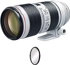 Canon EF 70-200mm f/2.8L is III USM Lens + UV Protective Filter Combo (International Model)