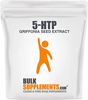 BulkSupplements.com 5-HTP (Griffonia Seed Extract) (50 Grams - 1.8 oz - 250 Servings)