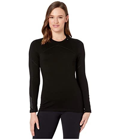 Helly Hansen Lifa Merino Crew (Black) Women