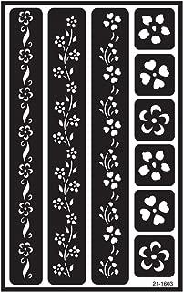 Best flower border stencils Reviews