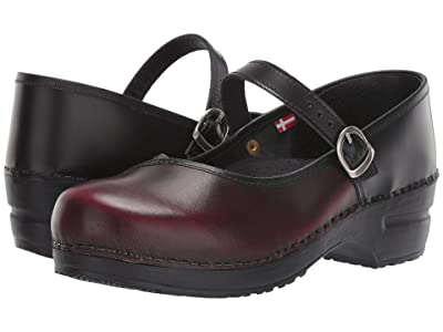 Sanita Everly (Black/Bordeaux) Women