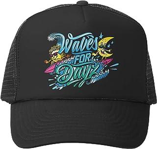 Grom Squad Kids Trucker Hat - Mesh Adjustable Baseball Cap for Boys & Girls - Baby, Infant, Toddler, School-Age Sizes