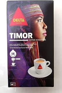 DELTA TIMOR Espresso ESE Pods / Servigs - 2 x 16 = 32 ESE pods