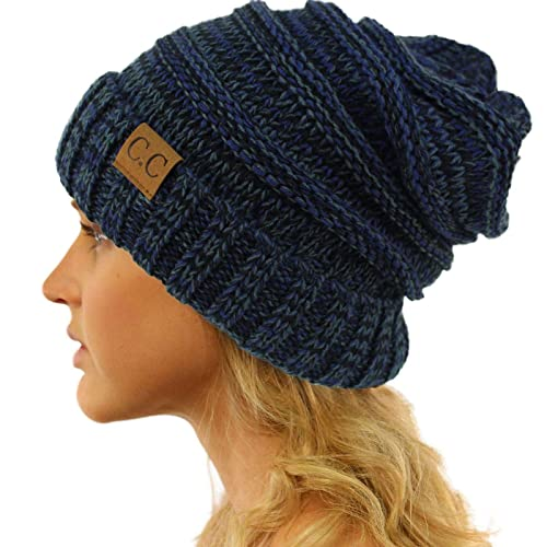8dfaf991b41 Replacement for CC Winter Trendy Warm Oversized Chunky Baggy Stretchy  Slouchy Skully Beanie Hat