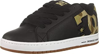 DC Mens Court Graffik SE-M Court Graffik Se Black Size: 18