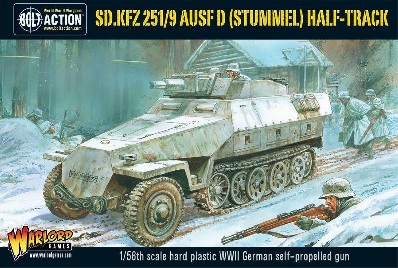 SD.KFZ 251 9 Ausf D (Stummel) Half-Track SW