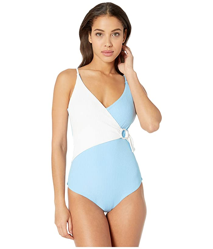 Vintage Bathing Suits | Retro Swimwear | Vintage Swimsuits onia Lila One-Piece White Womens Swimsuits One Piece $128.31 AT vintagedancer.com