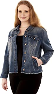 5f8100307 Amazon.com: 3X - Denim Jackets / Coats, Jackets & Vests: Clothing ...