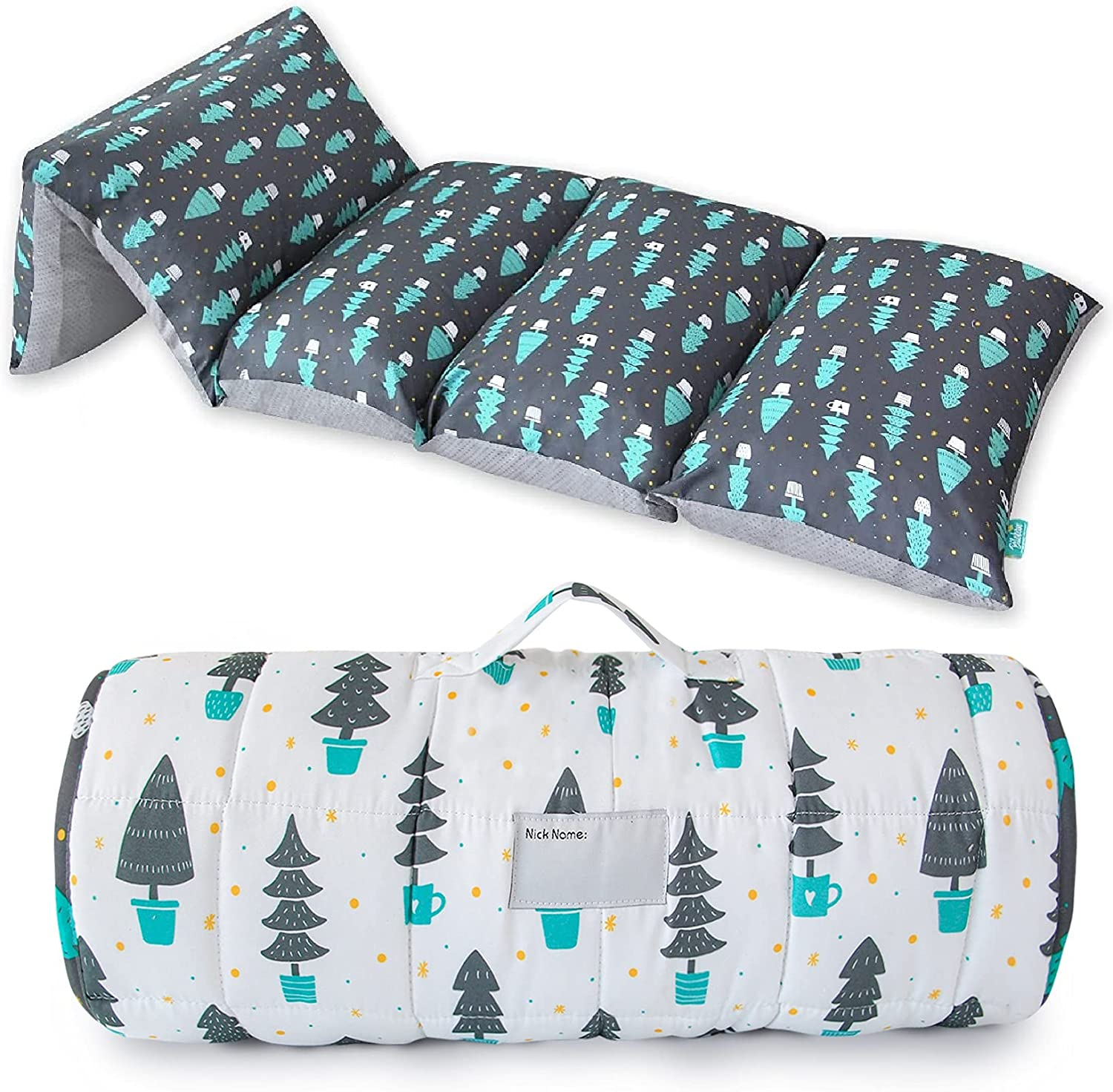 Toddler Nap Mat 5 Pillow Cover White W Sleepover Las Vegas Mall and Selling for Dark