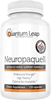 Clinical Strength Neuropathy Pain Relief. Advanced Nerve Support Formula. 120 capsules
