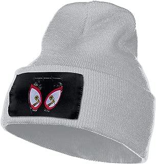 Post Malone Swae Lee Sunflower Spider Unisex Winter Beanie Hats Ski Slouchy Fleece Lined Warm Knit Skull Cap 4 Color