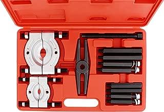 QWORK Bearing Separator Set 5-Ton Capacity Bearing Pullers with Gear Puller & Fly Wheel Separator